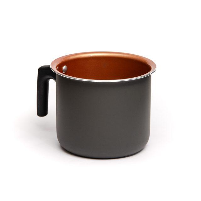 Leiteira de Ceramica Montreal Preta 14 Principal Euro