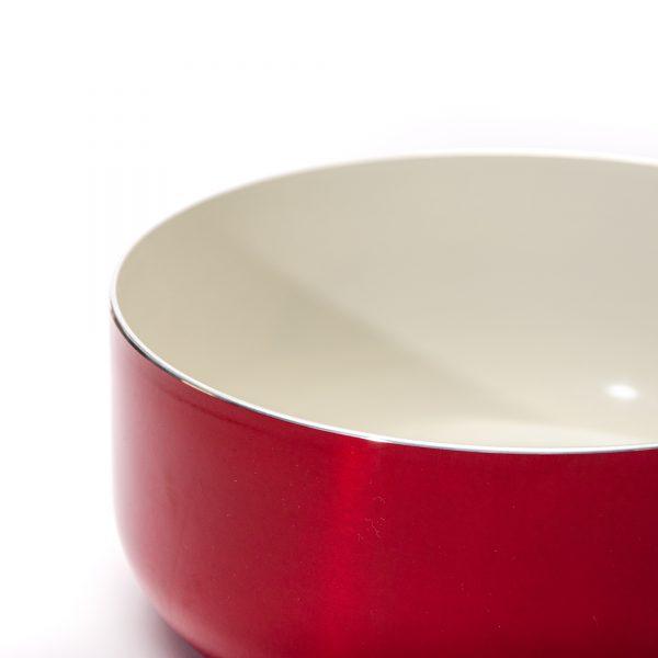 Panela de Ceramica Montreal Vermelha 20 Euro Frente scaled