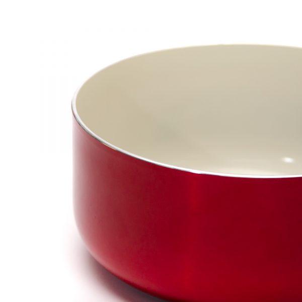 Panela de Ceramica Montreal Vermelha Euro Frente scaled
